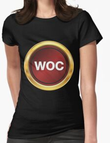 Wall Of Champions Logo Womens Fitted T-Shirt