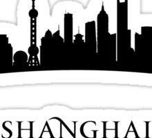 Shanghai China Cityscape Sticker