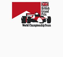 80´s MCLAREN WORLD CHAMPIONSHIP TEAM - BRITISH GRAND PRIX  Unisex T-Shirt
