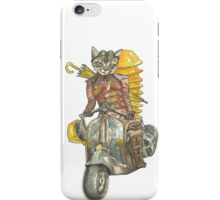 Moto Cat iPhone Case/Skin