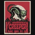 CAT CREEPER by waxmonger