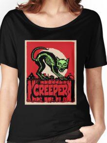 CAT CREEPER Women's Relaxed Fit T-Shirt