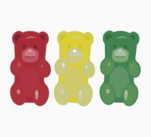 Gummy Bears, stop, set, go! by underwatercity
