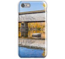 Covered Bridge at Darlington iPhone Case/Skin