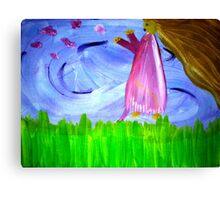 Following Fairies Canvas Print