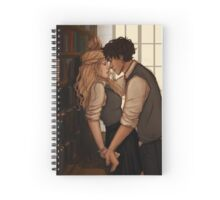 Bellarke hogwarts  Spiral Notebook