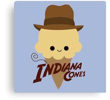 Indiana Cones Canvas Print