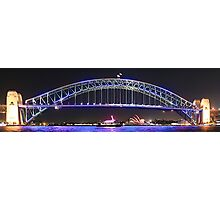 Sydney and the Vivid Festival Photographic Print