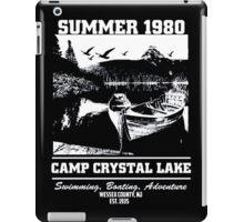 Camp Crystal Lake Summer 1980 iPad Case/Skin