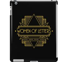 W.O.L (Art Deco) iPad Case/Skin