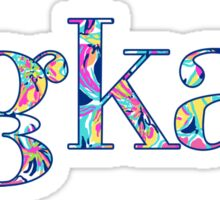 sigkap floral Sticker