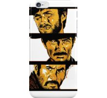 Sergio Leone: The Good, The Bad and The Ugly iPhone Case/Skin