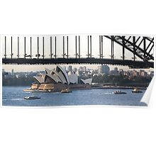 Sydney rush house on the harbour Poster
