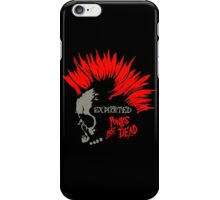 Retro Punk Restyling exploited iPhone Case/Skin