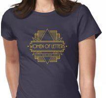 W.O.L (Art Deco) Womens Fitted T-Shirt