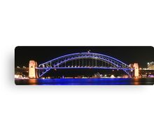 Sydney's Icons at night Canvas Print