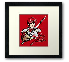 Ys - Adol (Red) Framed Print