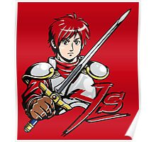 Ys - Adol (Red) Poster