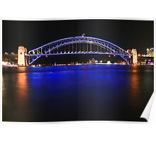 Sydney's Icons at night Poster