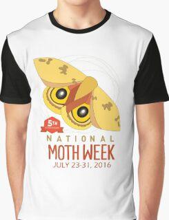 National Moth Week 2016, 5th anniversary Graphic T-Shirt