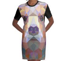 The Bear Graphic T-Shirt Dress