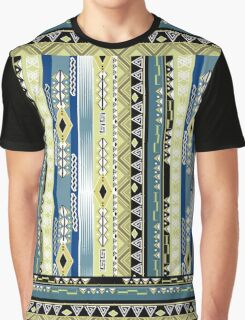 African ethno abstract seamless tribal pattern with decorative folk elements background Graphic T-Shirt