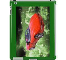 Red C5 Corvette convertible Muscle Car iPad Case/Skin