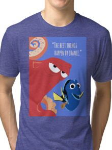 Dory and Hank - Finding Dory Tri-blend T-Shirt