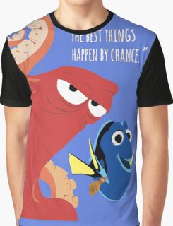 Dory and Hank - Finding Dory Graphic T-Shirt
