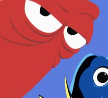Dory and Hank - Finding Dory Sticker