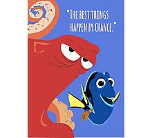 Dory and Hank - Finding Dory Photographic Print