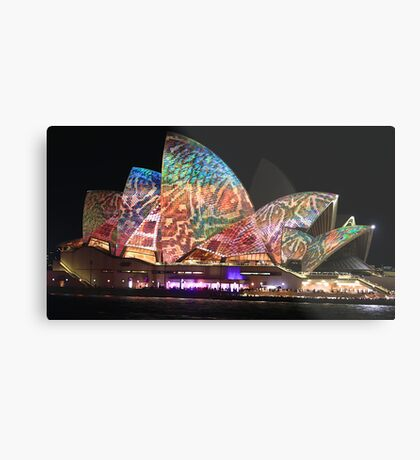 Sydney and the Vivid Festival Metal Print