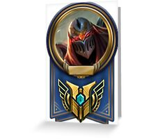 League of Legends - Zed Champion Mastery 7 Greeting Card