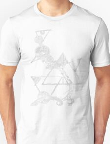Time and space (white design) Unisex T-Shirt