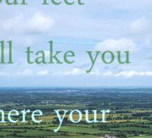 Irish Travel Quote Sticker