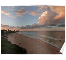 Gorgeous Gold Coast Sunset Poster