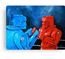 Rocket, Sockem,2 the Rematch  Canvas Print