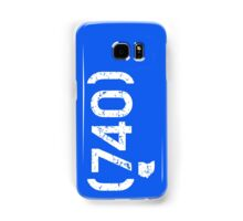 Area Code 740 Ohio Samsung Galaxy Case/Skin