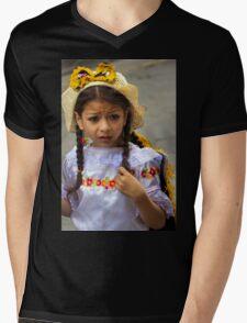 Cuenca Kids 780 Mens V-Neck T-Shirt