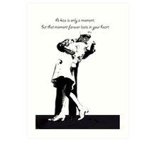 Kiss of a Lifetime Art Print