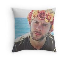 Charlie Pace Flower Crown Throw Pillow