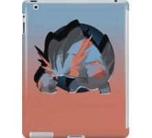 Mega Swampert Drop Shadow iPad Case/Skin