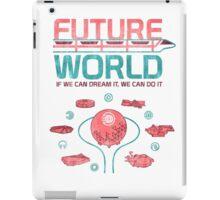 Future World Map iPad Case/Skin