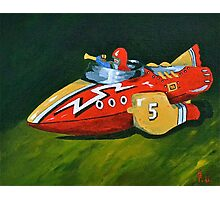 Rocket Fighter  Photographic Print