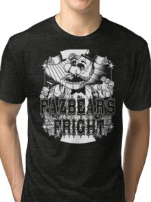 Fazbear's Fright Five Nights FNAF Freddy's Horror Video Game Tri-blend T-Shirt