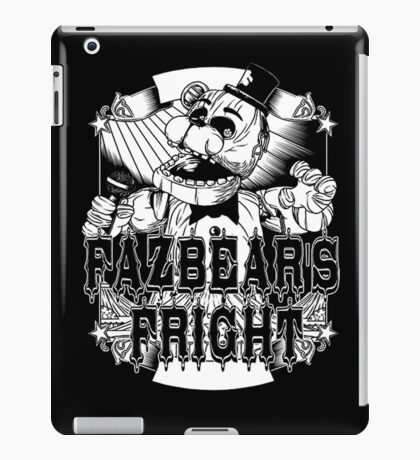 Fazbear's Fright Five Nights FNAF Freddy's Horror Video Game iPad Case/Skin