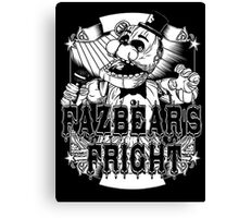 Fazbear's Fright Five Nights FNAF Freddy's Horror Video Game Canvas Print