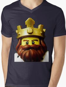 Classic King Mens V-Neck T-Shirt