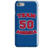 Go Team America! iPhone Case/Skin