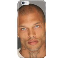 Jeremy Meeks, the Handsome Mugshot, Hot Felon iPhone Case/Skin
